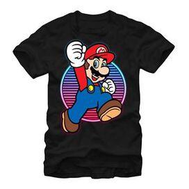Mario Neon Circle Hop T-Shirt