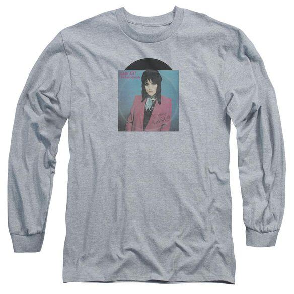 Joan Jett Rock N Roll 45 Long Sleeve Adult Athletic T-Shirt