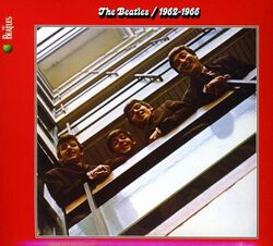 Image of Beatles - 1962-1966 (Red)