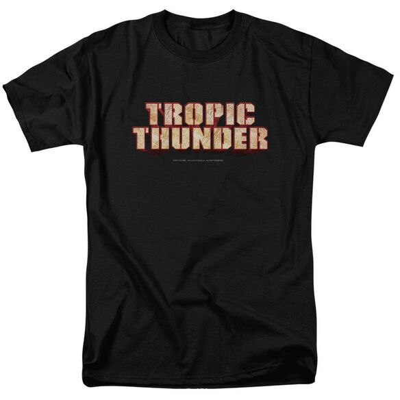 Tropic Thunder Title Short Sleeve Adult T-Shirt