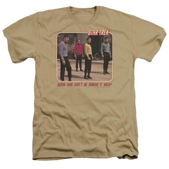Star Trek Red Shirt Blues Adult Heather