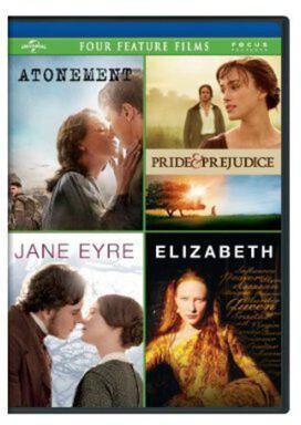 Atonement / Pride & Prejudice / Jane Eyre / Elizabeth