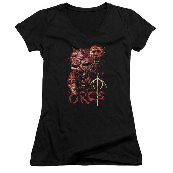 Lor Orcs Junior V Neck T-Shirt