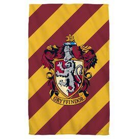 Harry Potter Gryffindor Crest Towel White
