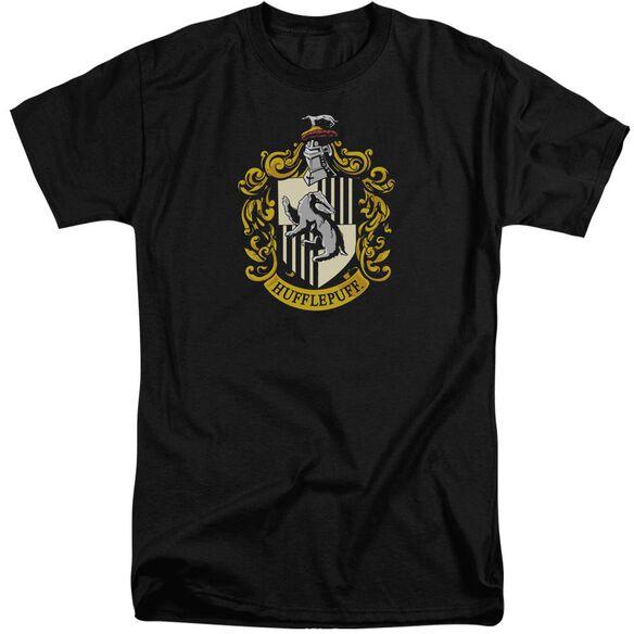 Harry Potter Hufflepuff Crest Short Sleeve Adult Tall T-Shirt