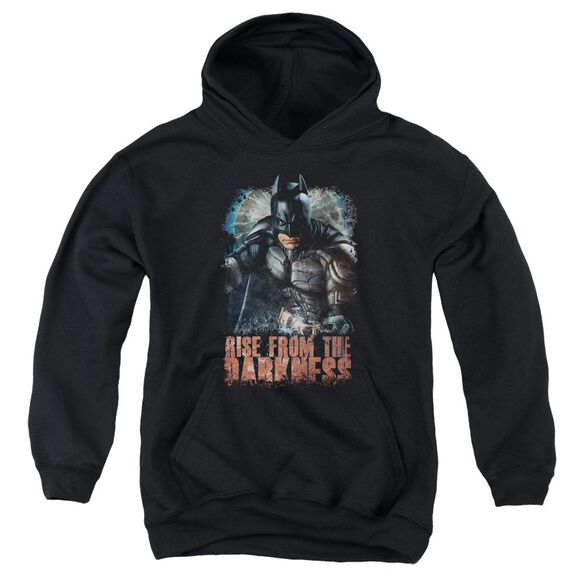 Dark Knight Rises Rise From Darkness Youth Pull Over Hoodie