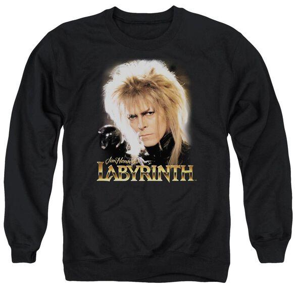 Labyrinth Jareth Adult Crewneck Sweatshirt