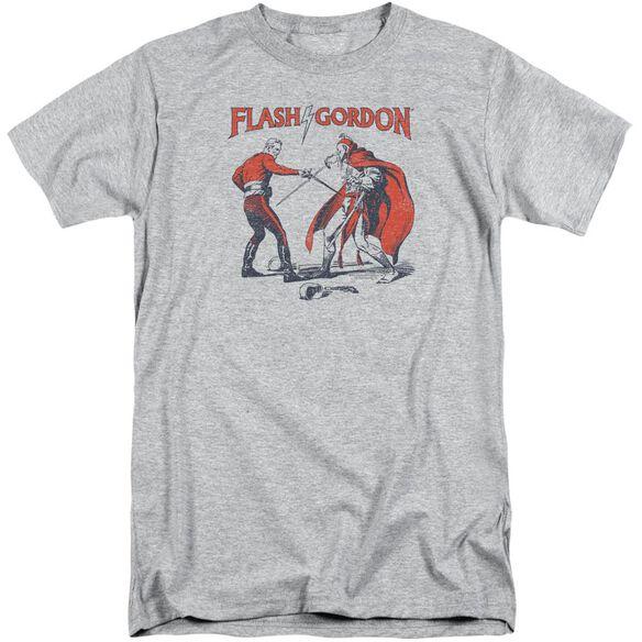 Flash Gordon Duel Short Sleeve Adult Tall Athletic T-Shirt