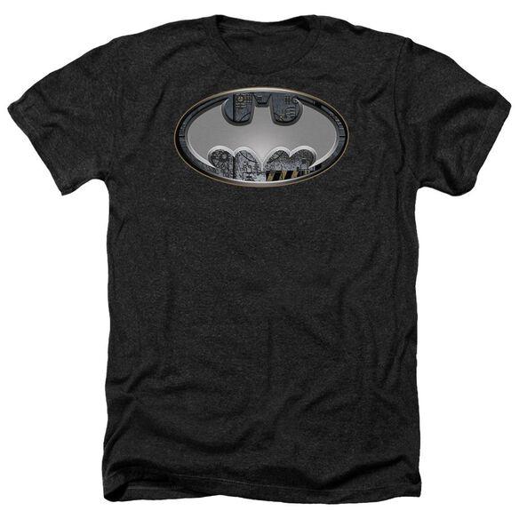 Batman Steel Wall Shield Adult Heather
