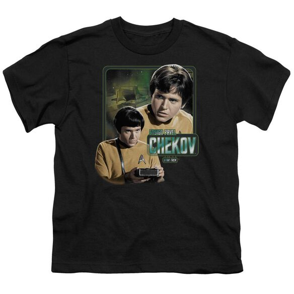 Star Trek Ensign Chekov Short Sleeve Youth T-Shirt