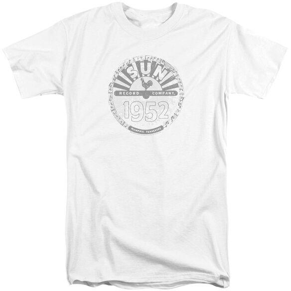 Sun Records Crusty Logo Short Sleeve Adult Tall T-Shirt