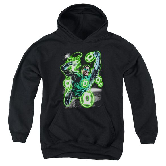 Green Lantern Earth Sector Youth Pull Over Hoodie