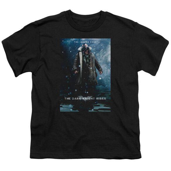 Dark Knight Rises Bane Poster Short Sleeve Youth T-Shirt