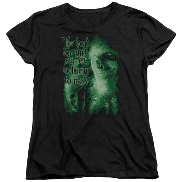 Lor King Of The Dead Short Sleeve Womens Tee T-Shirt