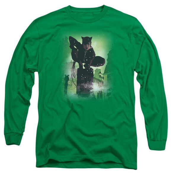 Batman Catwoman #63 Cover Long Sleeve Adult Kelly T-Shirt
