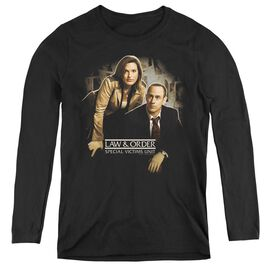 LAW AND ORDER SVU HELPING VICTIMS - WOMENS LONG SLEEVE TEE
