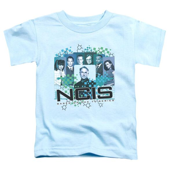 Ncis Cast Short Sleeve Toddler Tee Light Blue Lg T-Shirt