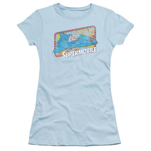 Dc Supermobile Short Sleeve Junior Sheer Light T-Shirt