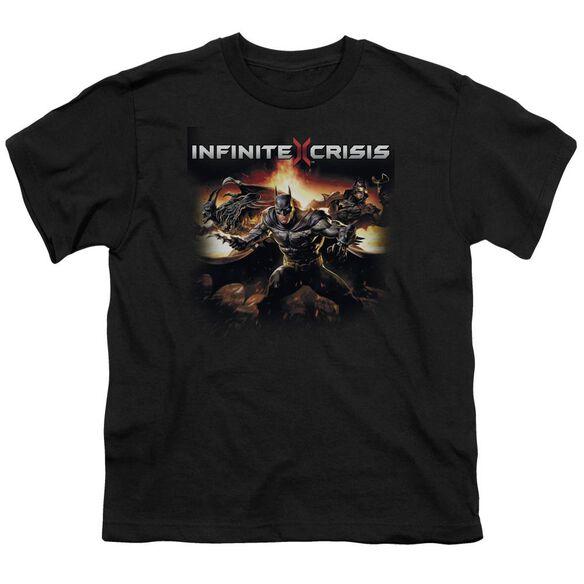 Infinite Crisis Batmen Short Sleeve Youth T-Shirt