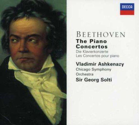 Vladimir Ashkenazy - Complete Piano Concertos