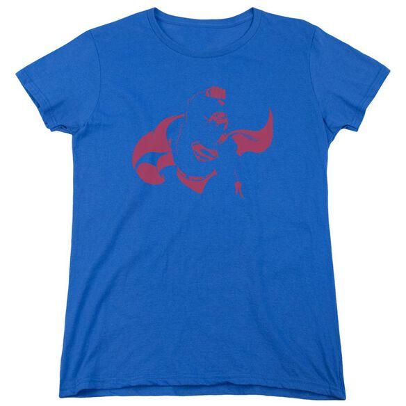 Dc Super Min Short Sleeve Womens Tee Royal T-Shirt