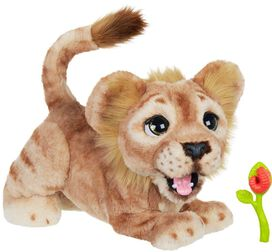 The Lion King Mighty Roar Simba Interactive Plush Toy