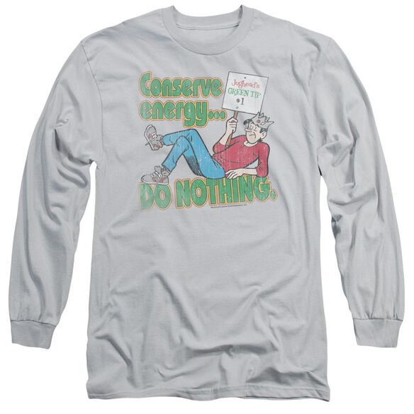 Archie Comics Conserve Energy Long Sleeve Adult T-Shirt