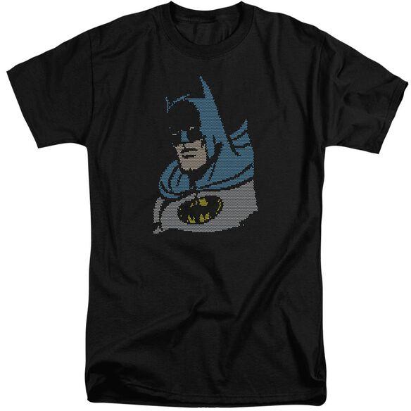 Dc Lite Brite Batman Short Sleeve Adult Tall T-Shirt