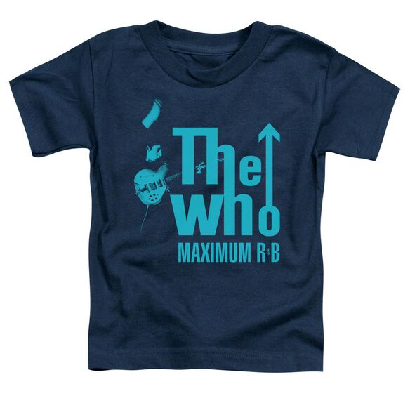 The Who Maximum R&B Short Sleeve Toddler Tee Navy T-Shirt