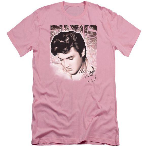 Elvis Star Light Short Sleeve Adult T-Shirt