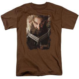 The Hobbit Nori Poster Short Sleeve Adult Coffee T-Shirt