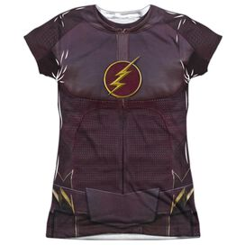 The Flash Flash Uniform Short Sleeve Junior Poly Crew T-Shirt