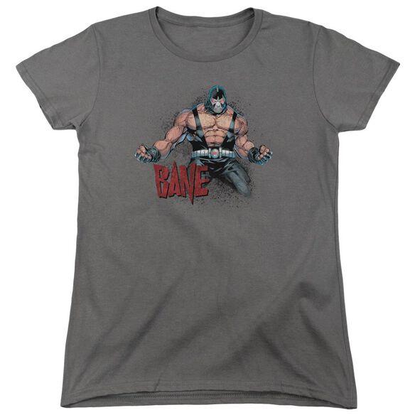 Batman Bane Flex Short Sleeve Womens Tee T-Shirt