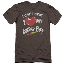 Astro Pop I Heart Premuim Canvas Adult Slim Fit