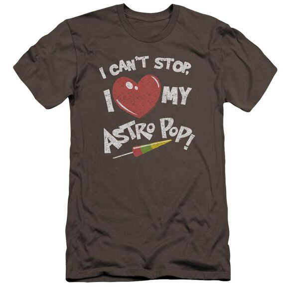 Astro Pop I Heart Premuim Canvas Adult Slim Fit