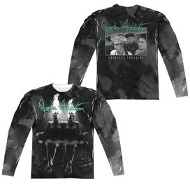 Janes Addiction Nothings Shocking (Front Back Print) Long Sleeve Adult Poly Crew T-Shirt