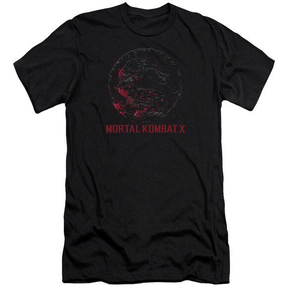 Mortal Kombat X Bloody Seal Premuim Canvas Adult Slim Fit