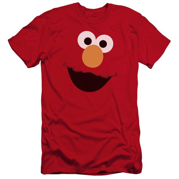Sesame Street Elmo Face Hbo Short Sleeve Adult T-Shirt