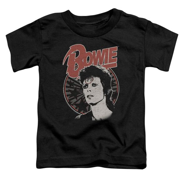 David Bowie Space Oddity Short Sleeve Toddler Tee Black T-Shirt