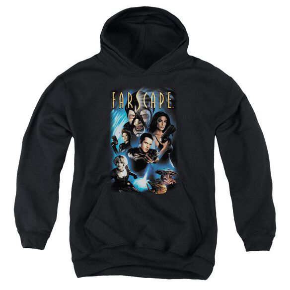 Farscape Comic Cover Youth Pull Over Hoodie