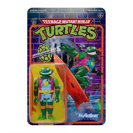 Teenage Mutant Ninja Turtles Sewer Surfer Michelangelo 3 3/4-Inch ReAction Figure