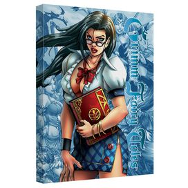 Zenescope Grimmoire Quickpro Artwrap Back Board