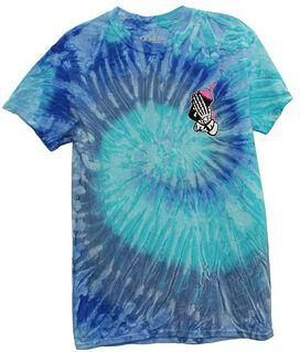 Slushcult SlushGod Bones Tie Dye T-Shirt