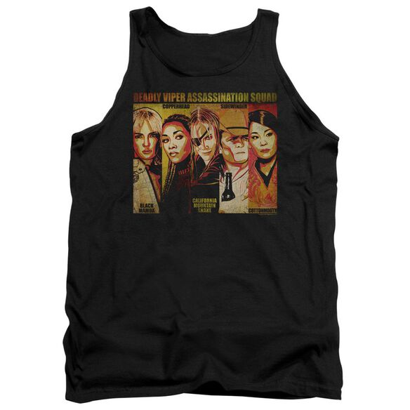 Kill Bill Deadly Viper Assassination Squad Adult Tank