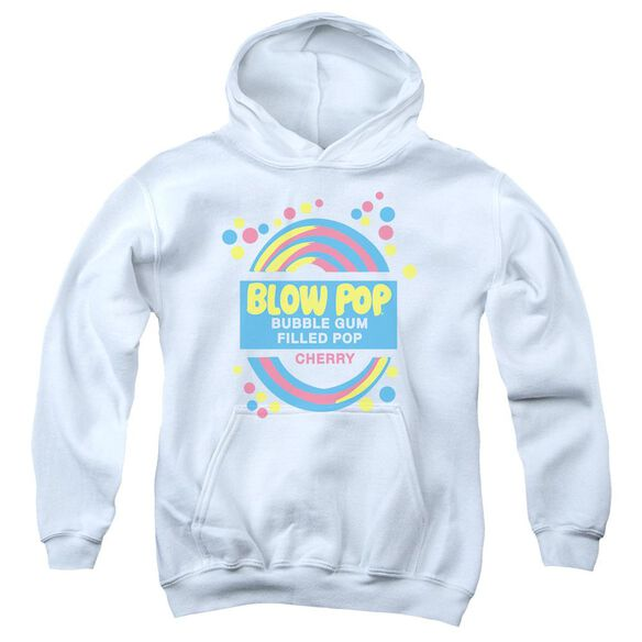 Tootsie Roll Blow Pop Label Youth Pull Over Hoodie