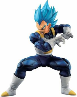 Dragon Ball Z - Ichiban Super Saiyan Blue Vegeta 7-Inch Collectible PVC Figure