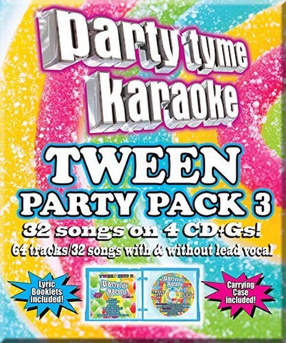 Various Artists - Party Tyme Karaoke: Tween Party Pack 3