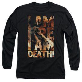 Hobbit I Am Fire Long Sleeve Adult T-Shirt