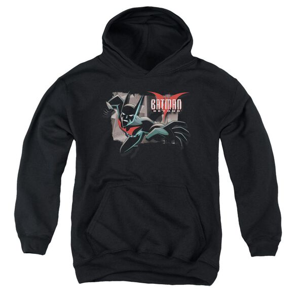Batman Beyond Out Of The Frame Youth Pull Over Hoodie