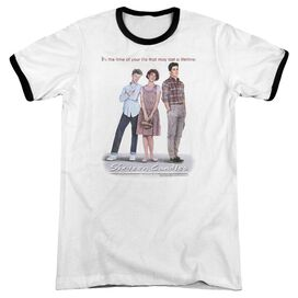 Sixteen Candles Poster - Adult Ringer - White/black